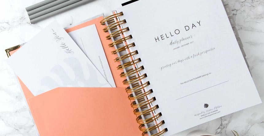 Daily Planner Diary