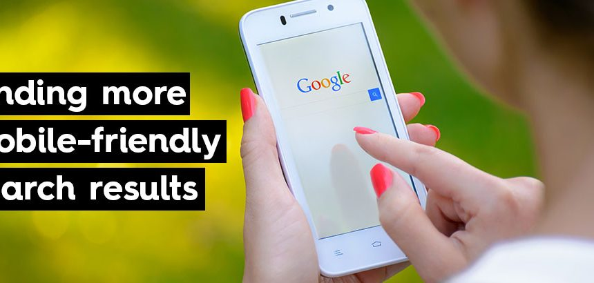 mobile friendly website ranks high