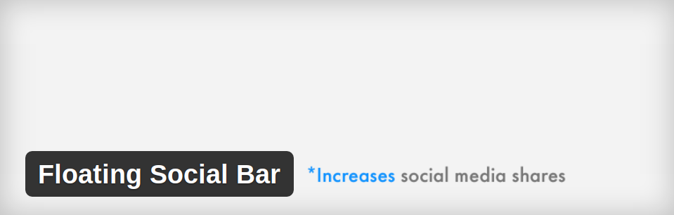 floating social bar plugin - krishaweb