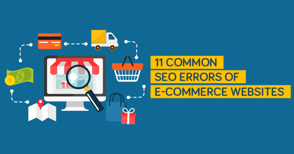 11 Critical Ecommerce SEO Errors You Should Avoid - KrishaWeb