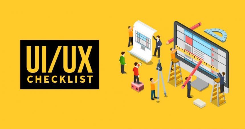 UI_UX checklist for website
