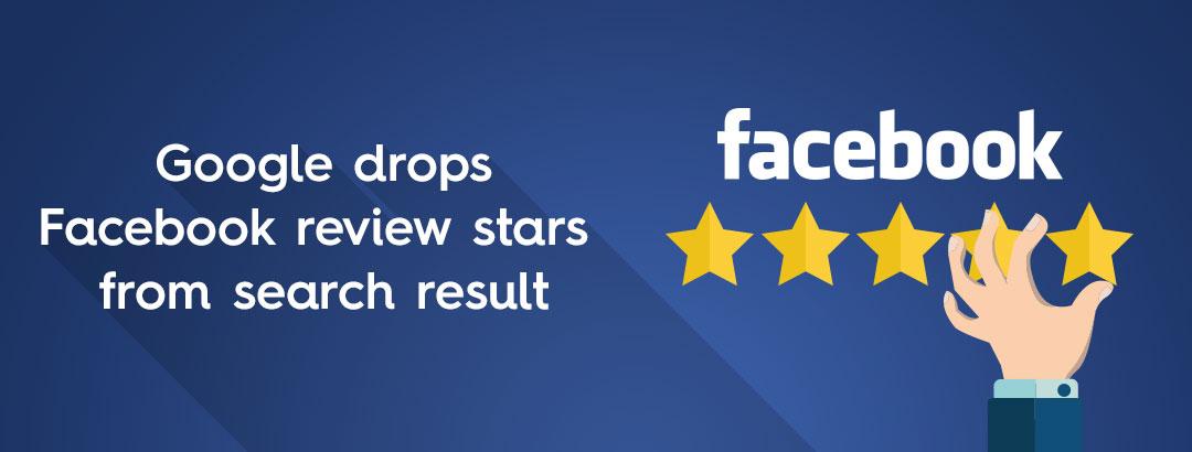 google drops facebook review stars  search result krishaweb technologies