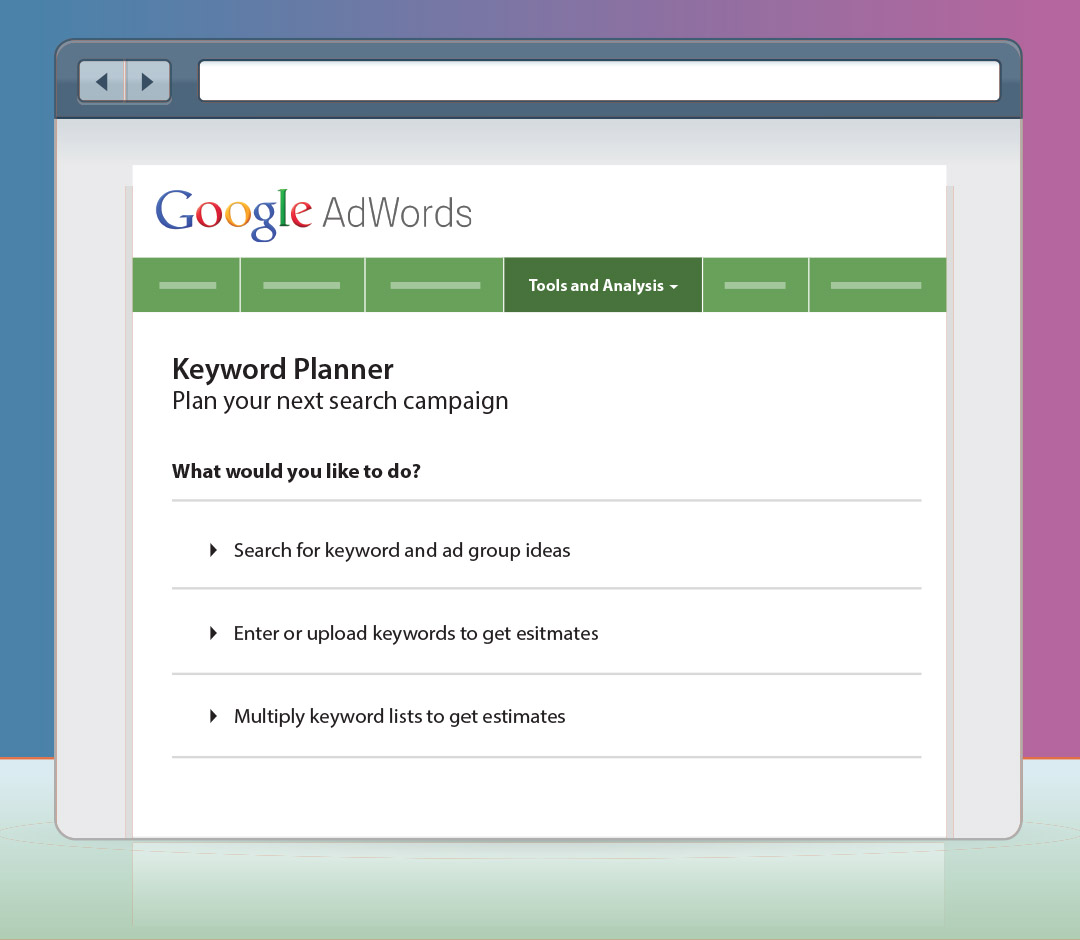 how to buy keywords on google