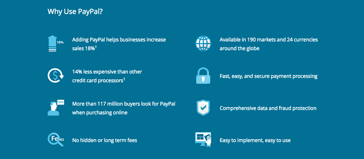 Advantages Of Paypal