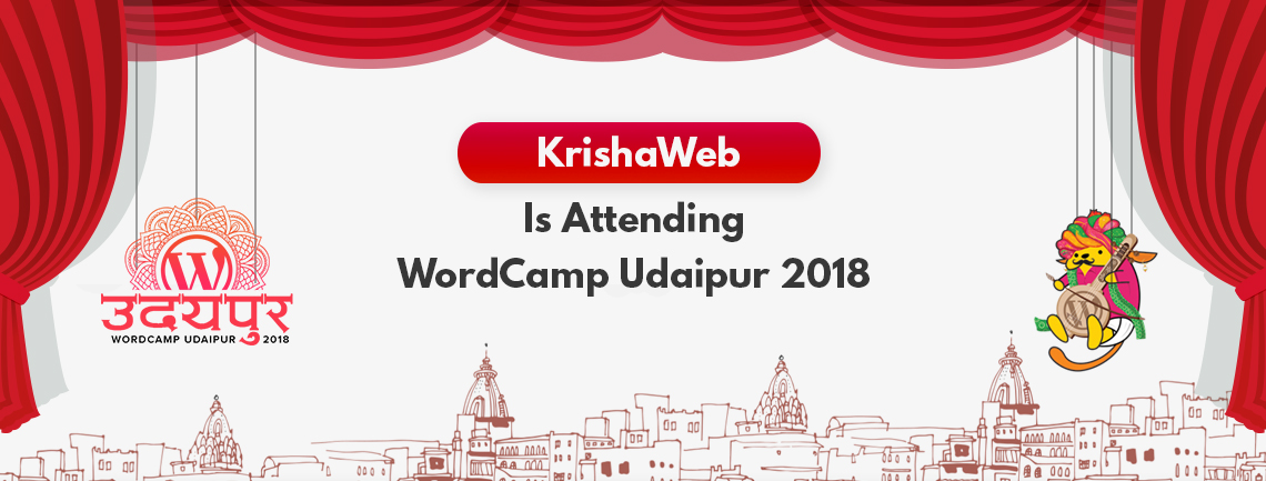 KrishaWeb is Attending WordCamp Udaipur 2018