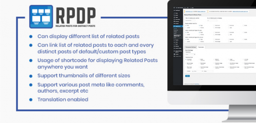 Related Posts for Distinct Posts ( RPDP) Plugin