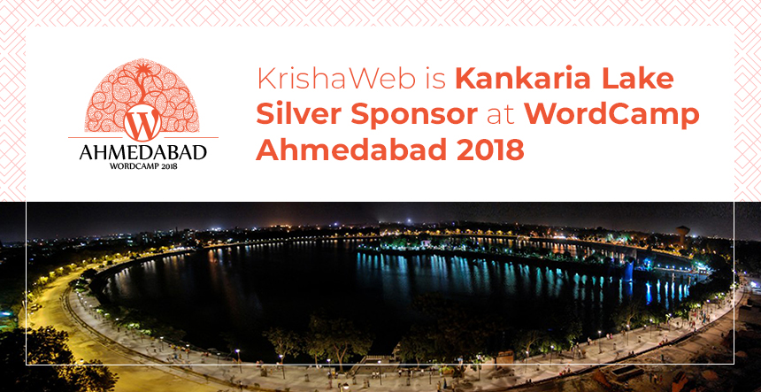 KrishaWeb-is-Kankaria-Lake-Silver-Sponsor-at-WordCamp-Ahmedabad-2018