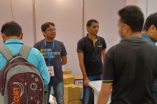 KrishaWeb Booth - WC Ahmedabad Day 1