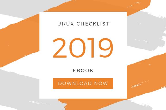 UI/UX Design Checklist 2019