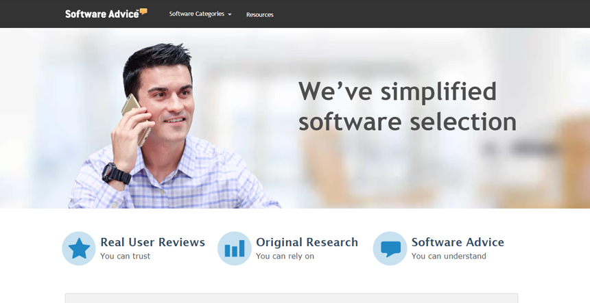 Select your suitable software with Software Advice