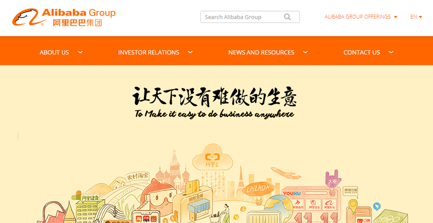 Alibaba - a leading online directory