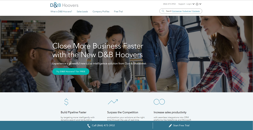 D&B Hoovers: world's largest business information database