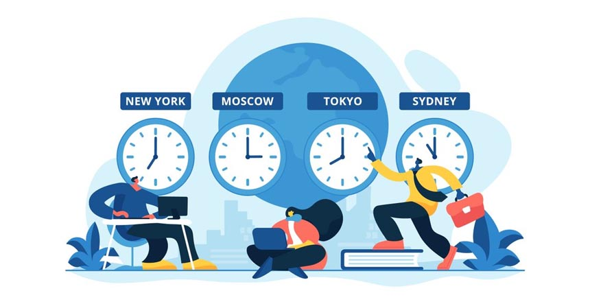 Working flexibly in Client's Time-zone