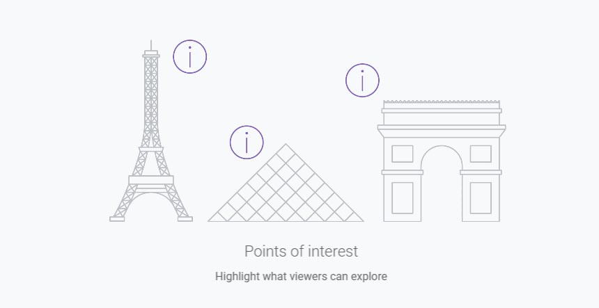Add Points of Interest in Virtual Tour