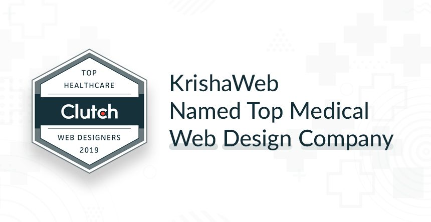 KrishaWeb: Top Medical Web Design Agency