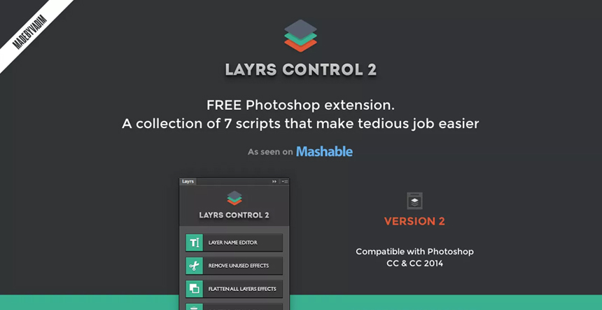 Lyrs Control 2 - Photoshop Plugin