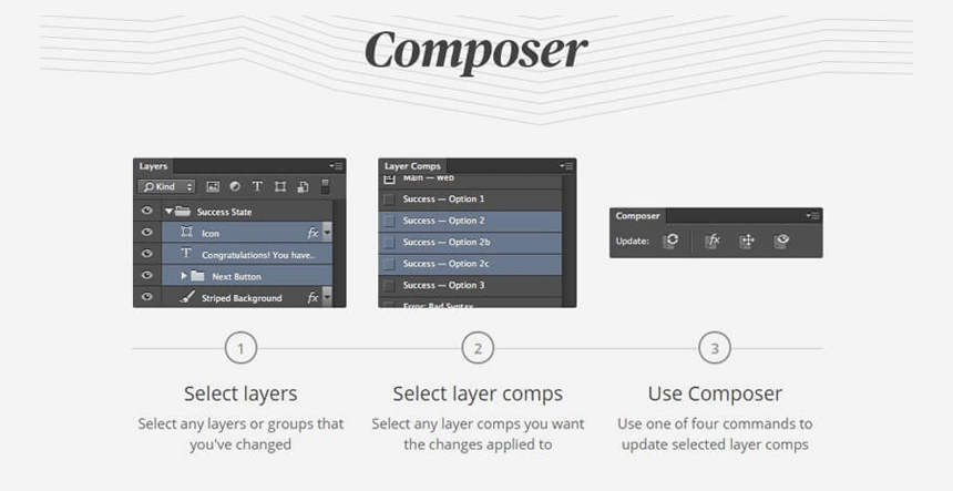 Composer Photoshop Plugin