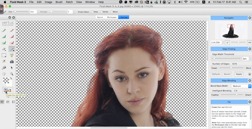Fluid Mask Photoshop Plugin