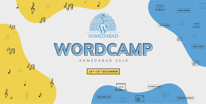 WordCamp Ahmedabad 2019 Banner
