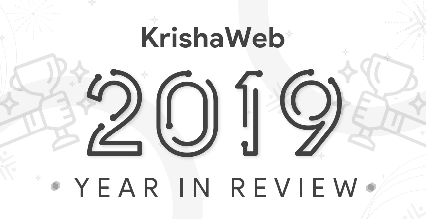 KrishaWeb Year In Review 2019