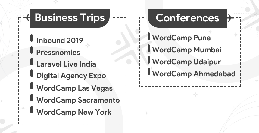 Business Trips and Conferences