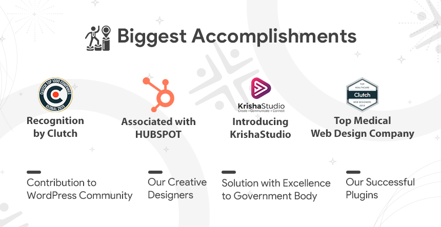 KrishaWeb Biggest Accomplishments 2019