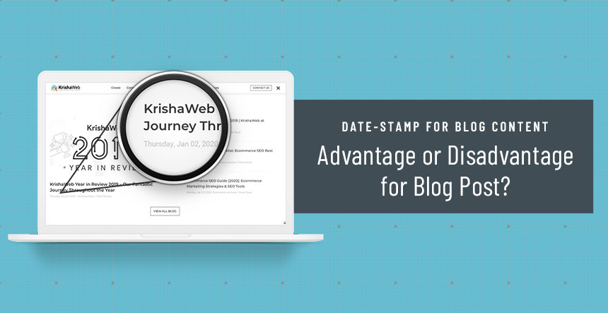 Date-Stamp for Blog Content