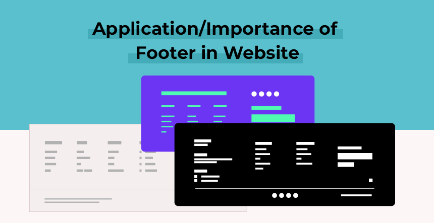 importance of footer in website