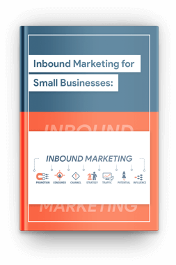 Inbound Marketing for small business - Cover page