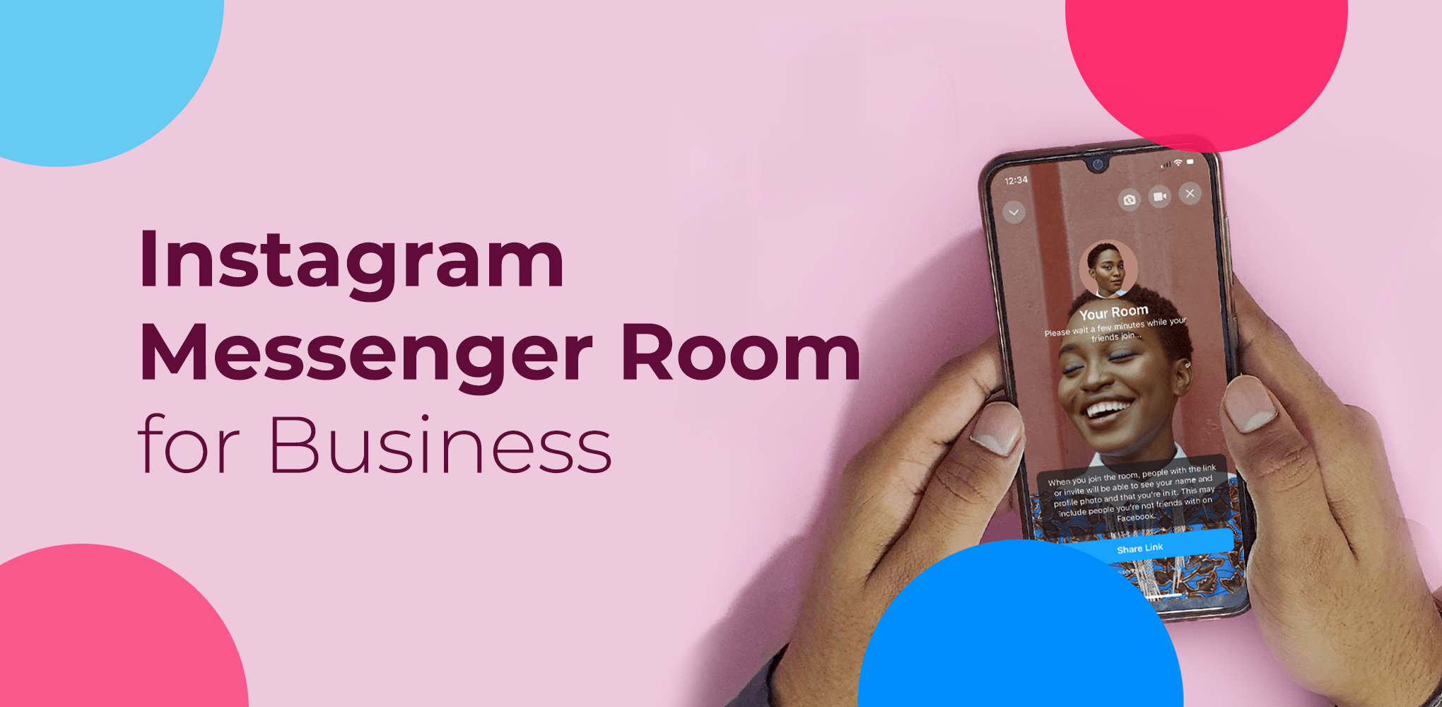Instagram Messenger Room for Business