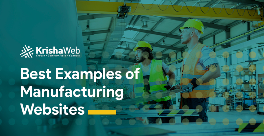 Best Manufacturing Website Examples