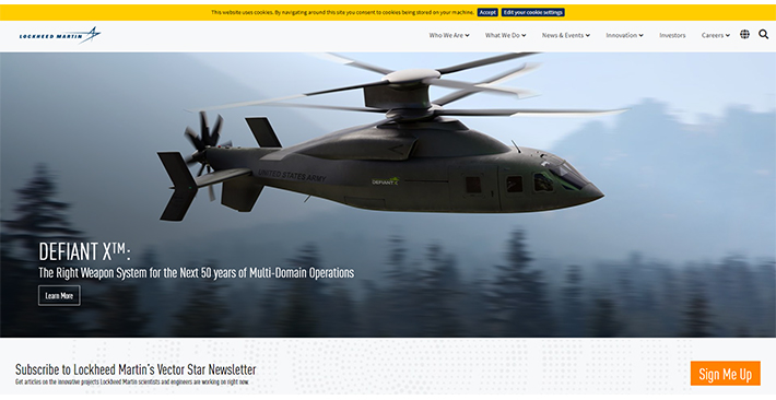 Lockheed Martin - Best Manufacturing Website