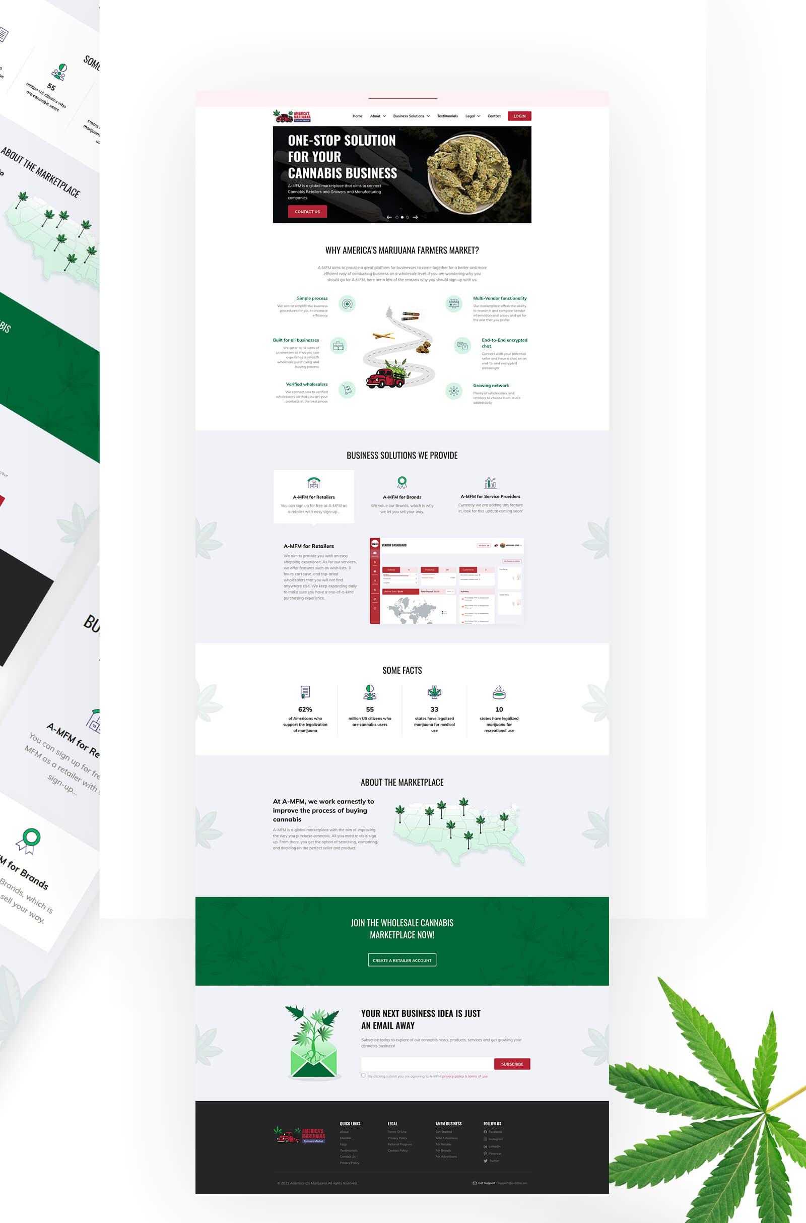 A-MFM's Landing Page